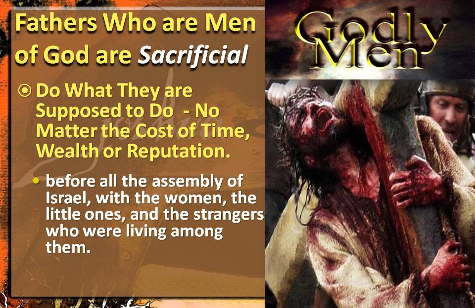 Men of God are Sacrificial