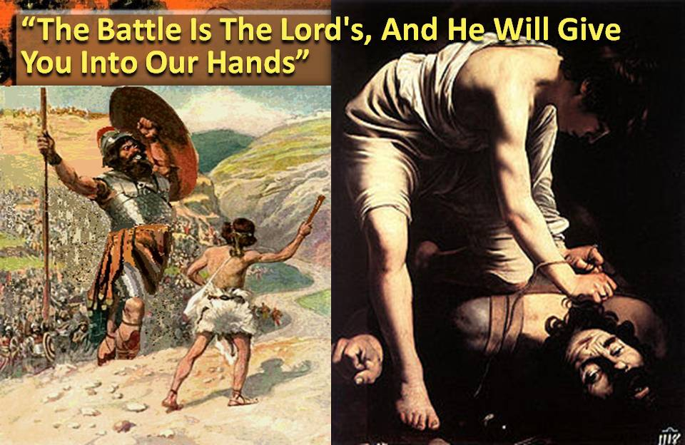 David warns Goliath