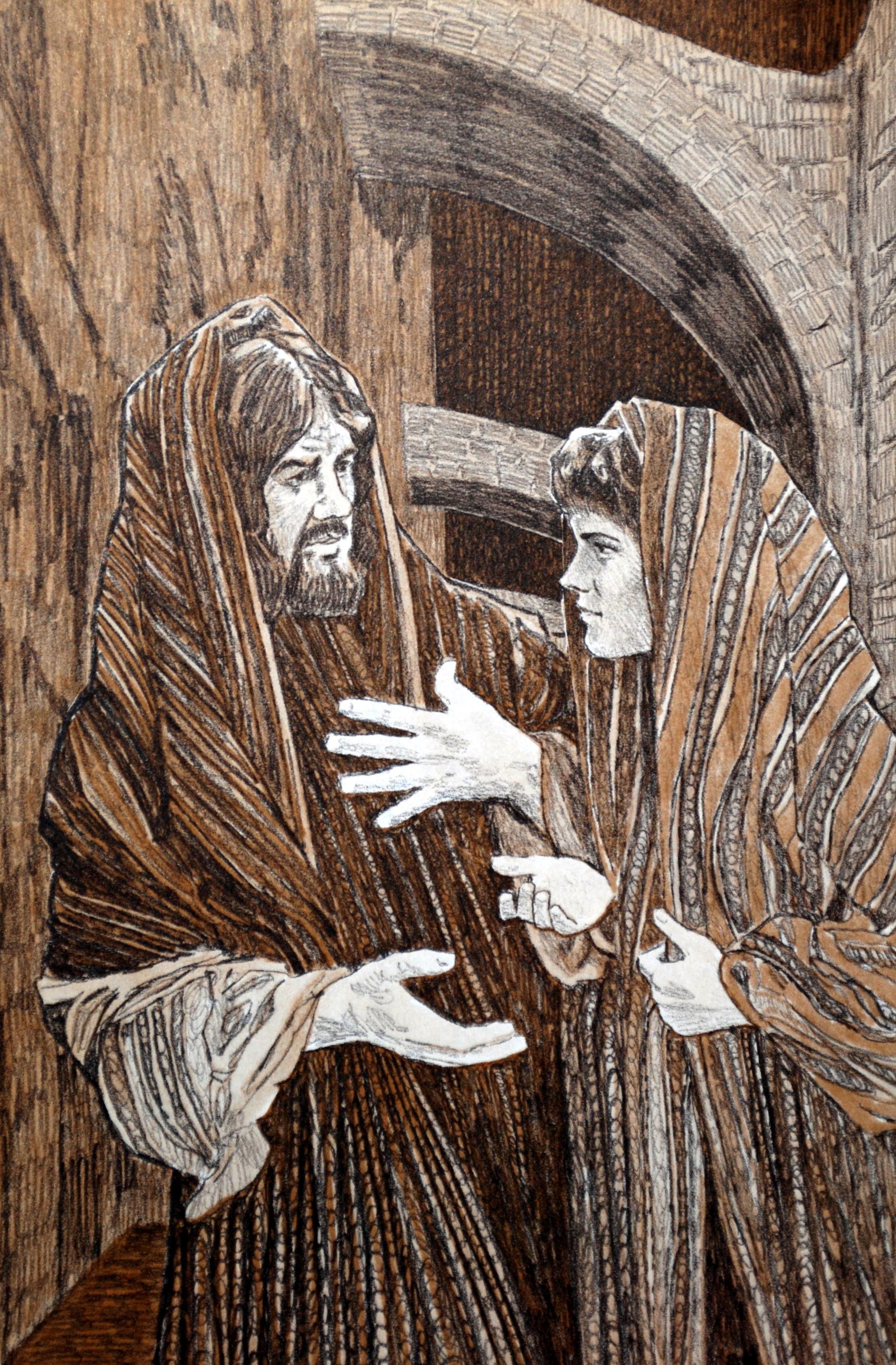 peter denies jesus melton