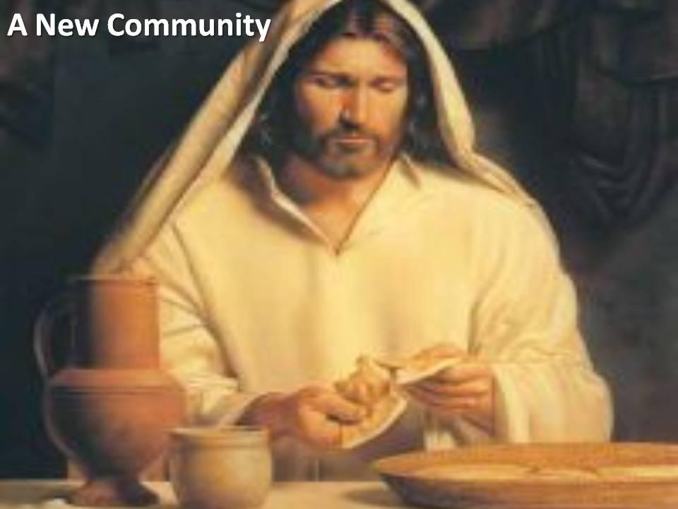 Jesus New Community1