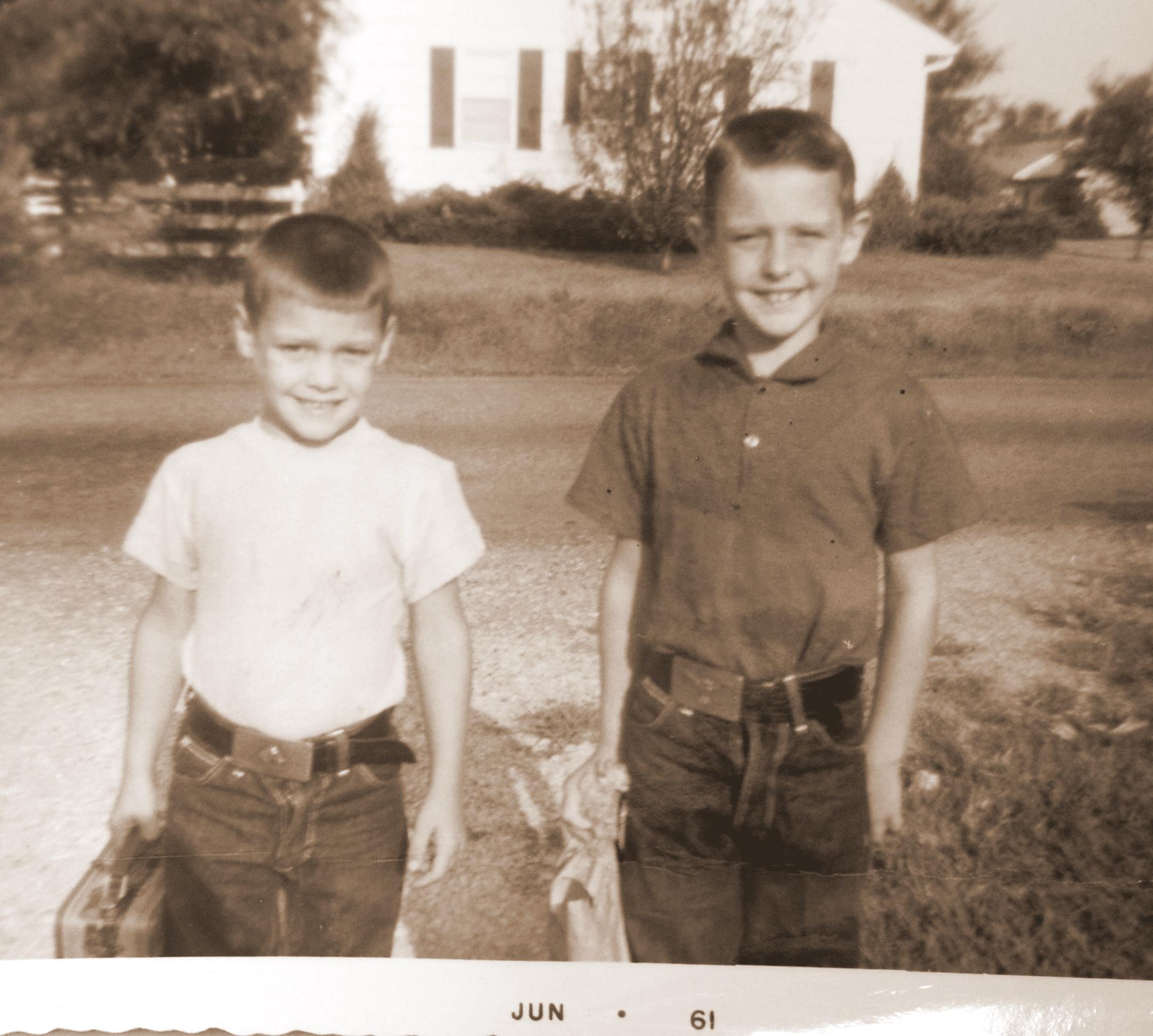 Jim and John to School