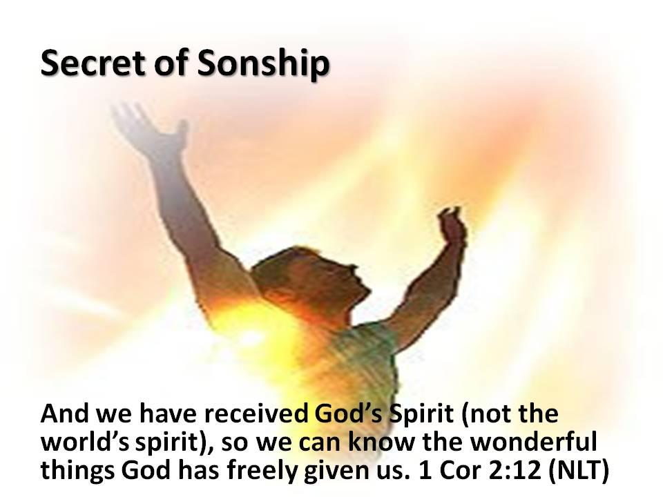 Secret of Sonship