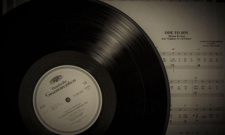 phonograph record