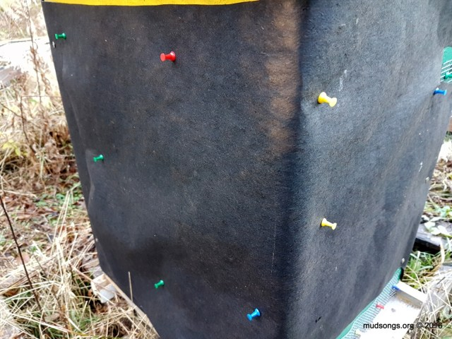 Push pins require more effort than thumb tacks and some twisting, but are probably easier to remove than thumb tacks. (Nov. 07, 2016.)
