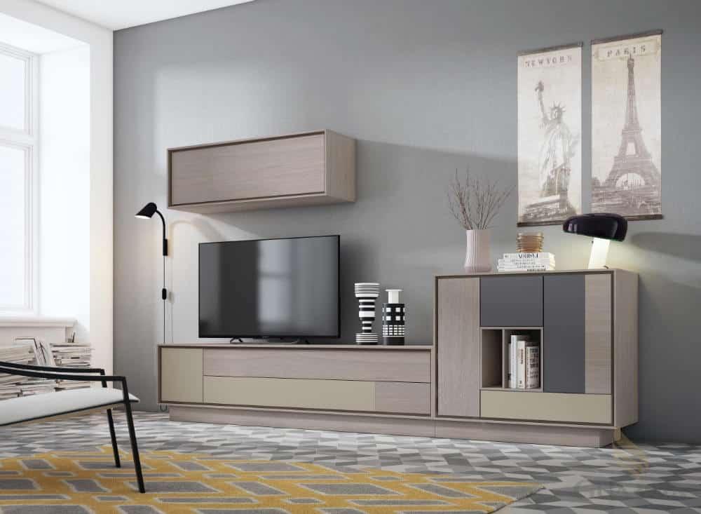 Mueble de salón corte moderno