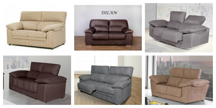 Sofas comprar por internet for Muebles baratos por internet