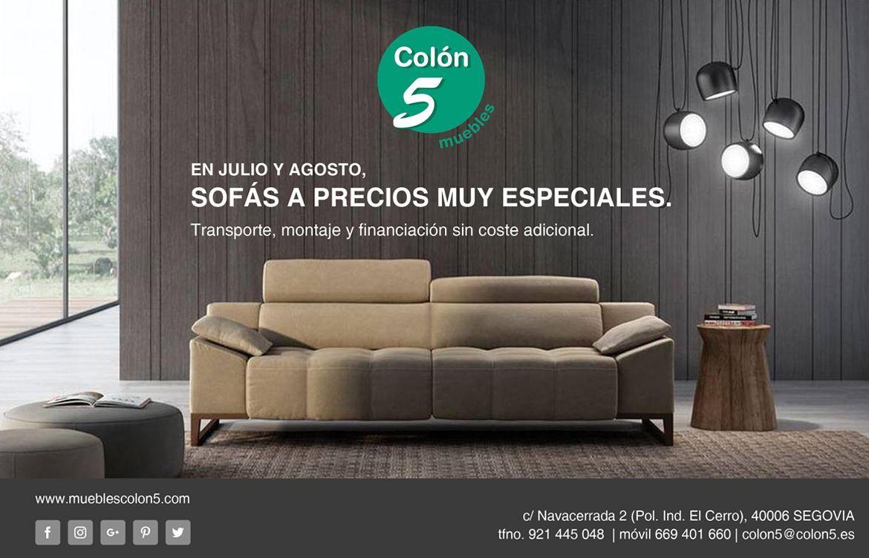 Oferta sofa stunning sof plazas en oferta en bilbao with for Ofertas tresillos