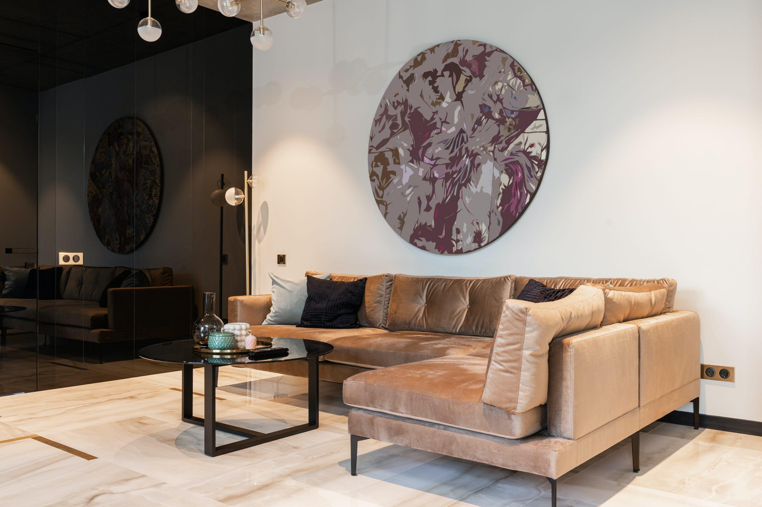 El tapizado del sofá, con terciopelo o chenilla, es mucho más cálido para las estaciones frías.