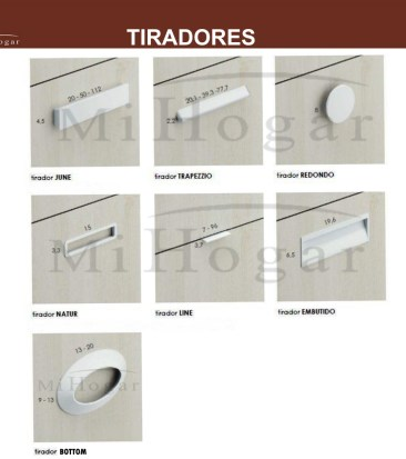 TIRADORES TMB MUEBLESMIHOGAR