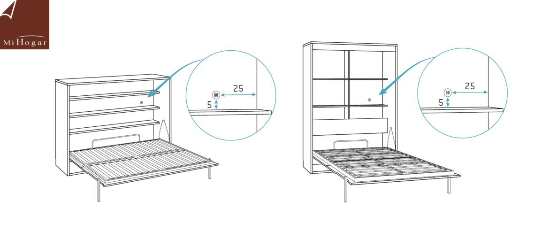 doble conector usb camas abatibles gala