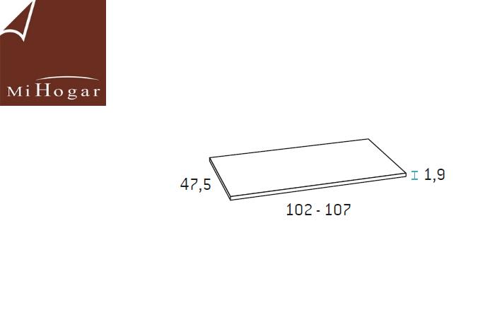 estante para camas abatibles con armario de fondo 56 gala