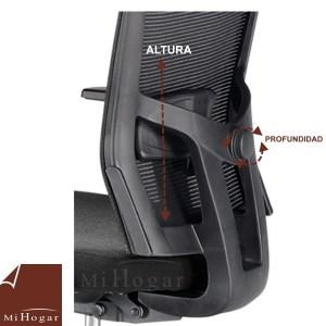 soporte lumbar regulable silla oficina computer