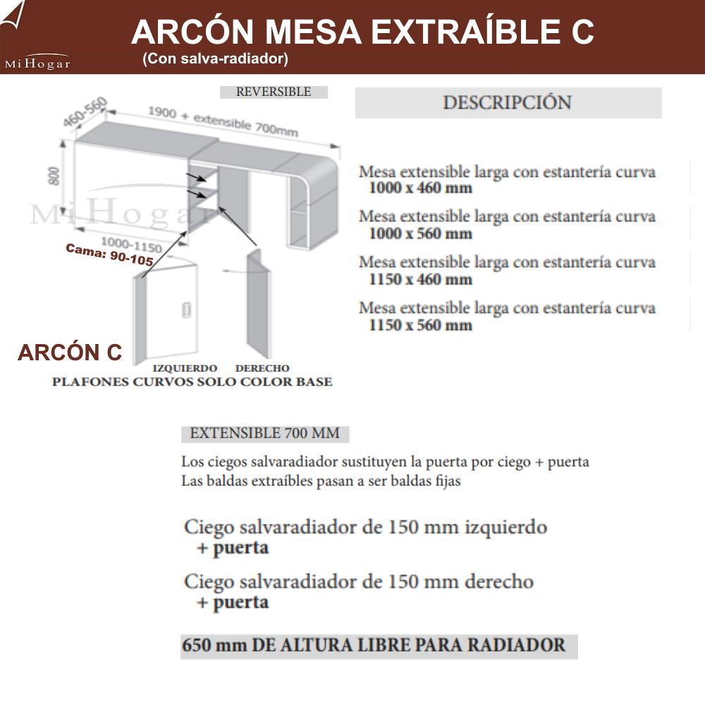 ARCON MESA SALVA-RADIADOR MOX
