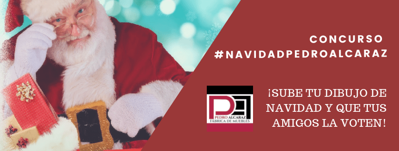 Concurso #NavidadPedroAlcaraz: Sube tu dibujo más navideño y gana una Tablet