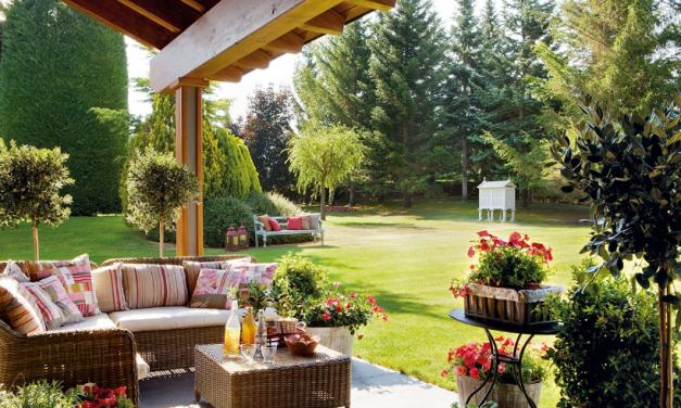 Estamos en primavera: es hora de redecora tu jardín
