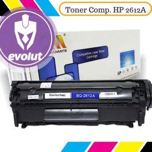 Toner Evolut compatível com impressoras 2612a da HP