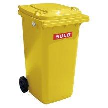 Gelbe Mülltonne kaufen von SULO mit 240 Litern, Räder