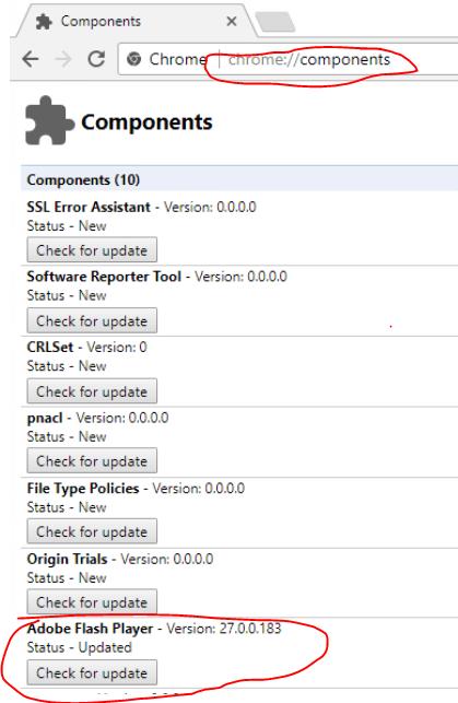 ChromeComponents