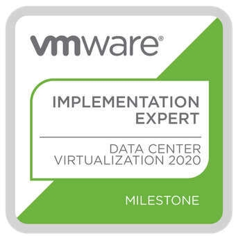 VMware Implementation Expert DCV 2020