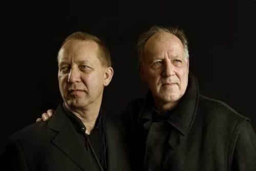 Ernst Reijseger (l.) vertont Werner Herzogs Bilder | © Krijn van Noordwijk