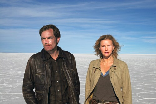 Michael Shannon und Veronica Ferres  in »Salt and Fire« | © Camino Filmverleih