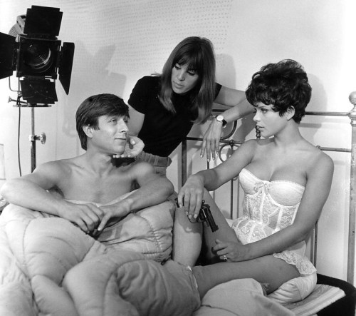 Werner Enke, May Spils und Uschi Glas. © Archiv Schamoni Film und Medien Gmbh