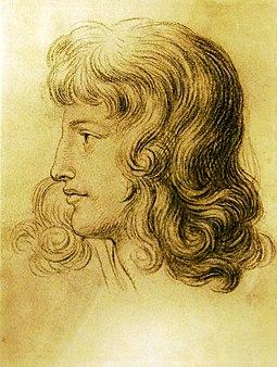 Christiane Vulpius 1788-89, Zeichnung Goethe