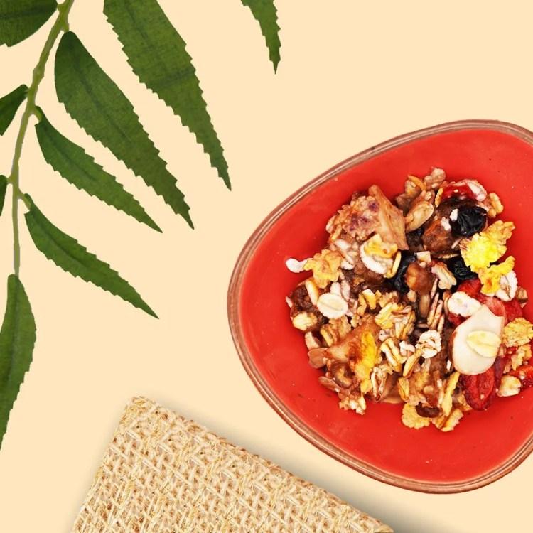 prepare muesli like oatmeal