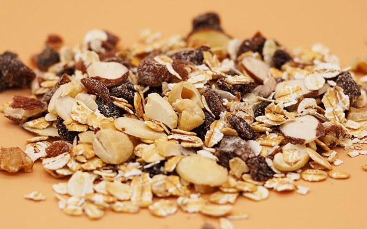 muesli ingredients and muesli nutrition facts
