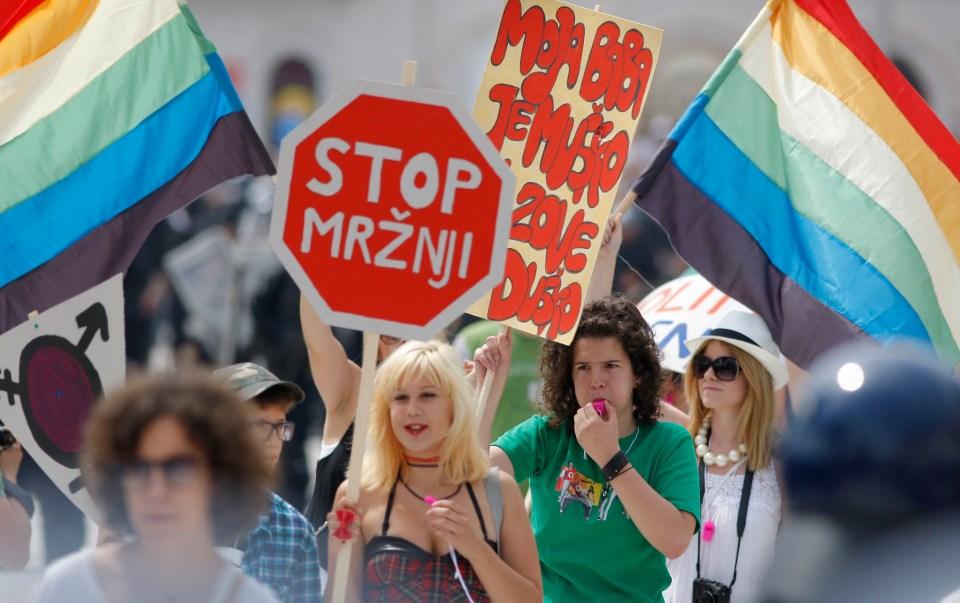 Gay Pride Split 110611