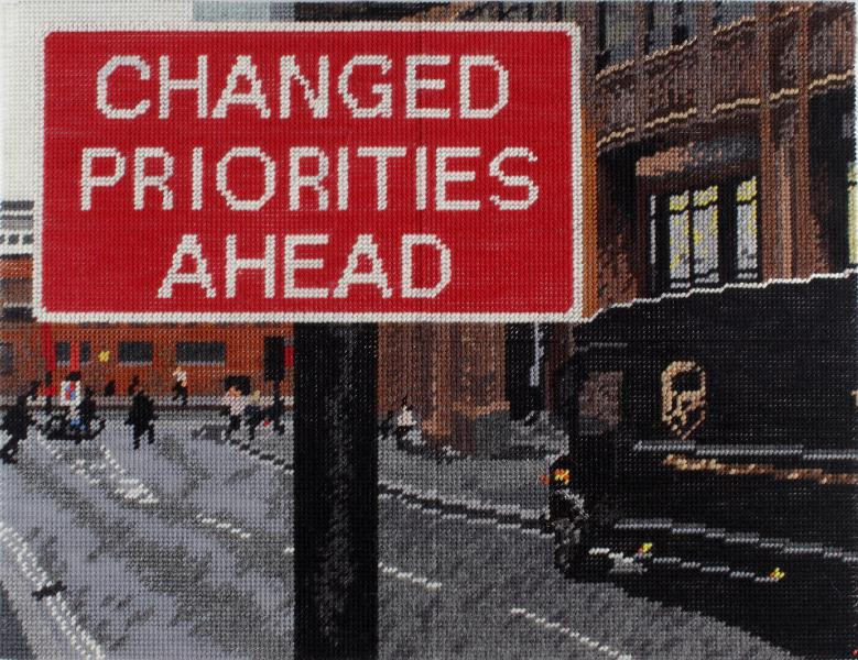 """Changed Priorities Ahead"", Michelle Hamer"