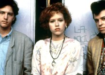 PRETTY IN PINK, Andrew McCarthy, Molly Ringwald, Jon Cryer, 1986, © Paramount / Courtesy: Everett Collection
