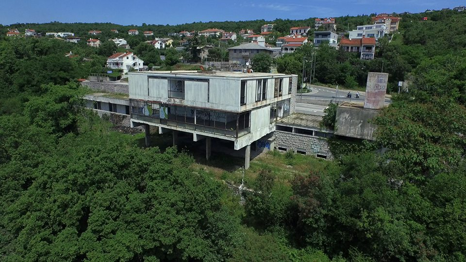 Motel Panorama na Preluku, arhitekt Ivan Vitić