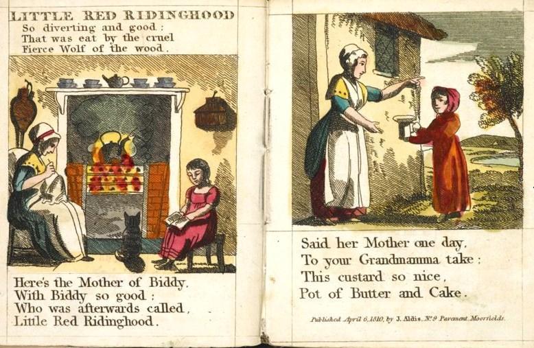 """Knjižica """"Crvenkapice"""" iz 1810."""