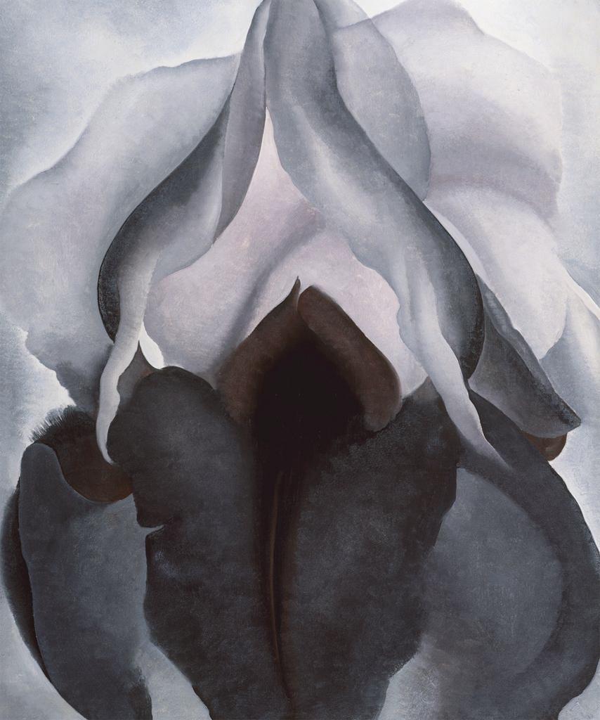 Crni iris, Georgia O'Keefe