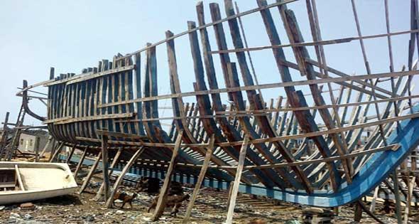 مراحل بناء السفن - مفهرس