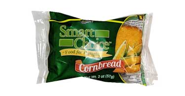 Muffin Town Smart Choice Wholegrain Cornbread Loaves