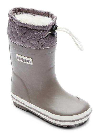 Bundgaard Sailor Rubber Boot Grey halli värvi villavoodriga kummikud talveks