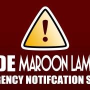 Code Maroon Lampoon!