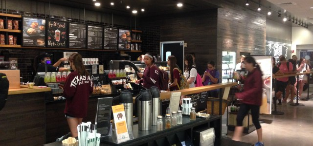 Basic White Girls Literally Can't Handle Starbucks Line