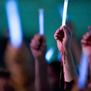 Glowstick Vigil Held to Raise Awareness For The Plight Of The Wealthy and Well-Connected