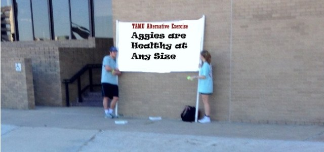 Students Spread Awareness About TAMU Alternative Exercise