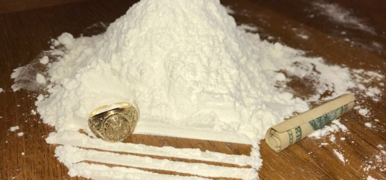 Students Dunk Rings in Massive Piles of Cocaine
