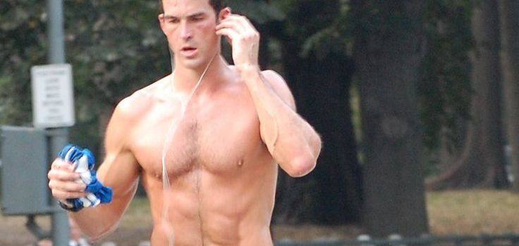Car Wreck on George Bush Drive Caused by Shirtless Jogger