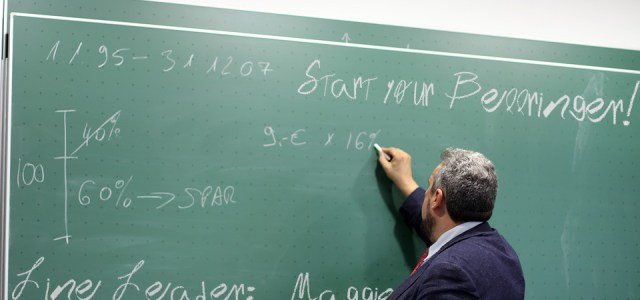 "Crafty Professor Calls Tests ""Celebrations of Knowledge"""
