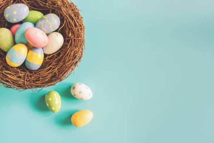 Easter bunnies, Eggs and other Easter traditions demystified. 3 MUGIBSON