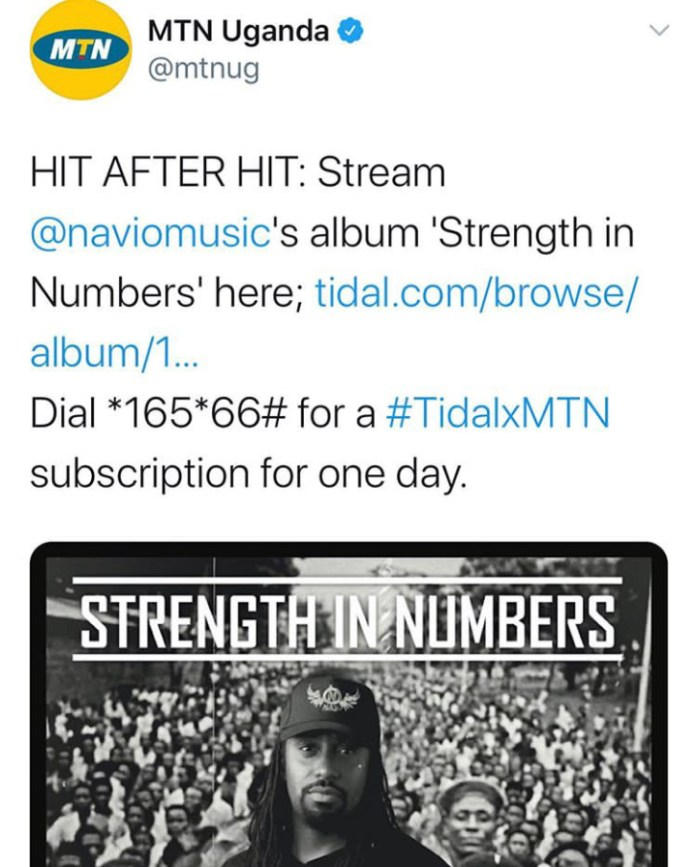 Music Review: Navio's new 'Strength In Numbers' album. Listen Here: - 11 MUGIBSON