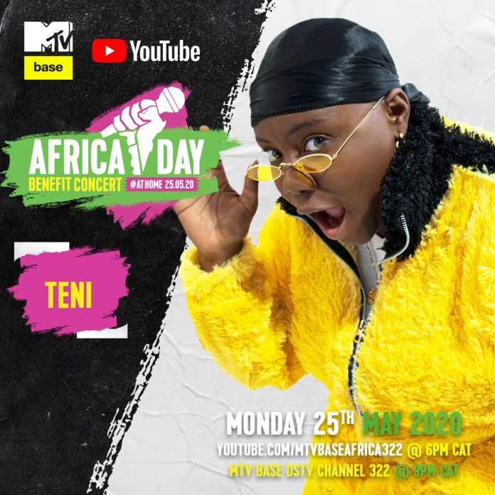 """Bebe Cool, Sean Paul, Nasty C, Teni, Sho Madjozi and more to perform in the """"Africa Day"""" Benefit Concert At Home. 5 MUGIBSON"""
