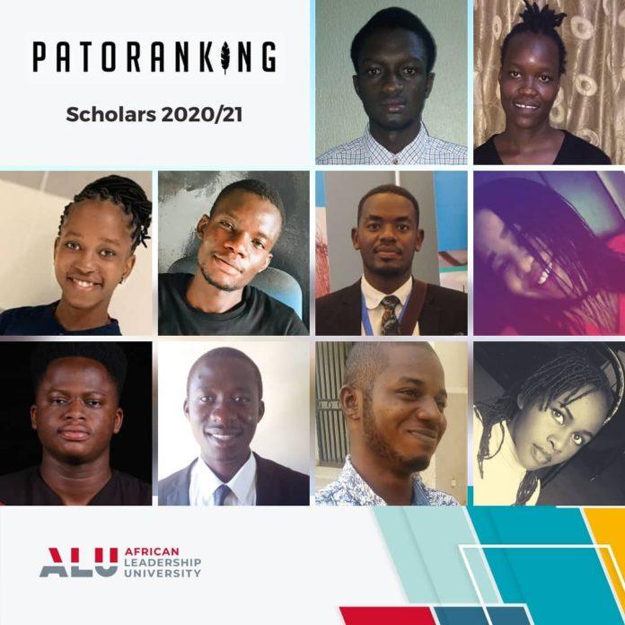 Uganda's Amos Kasumba and 9 other scholars to benefit from the 2020/21 Patoranking Scholarship Program 1 MUGIBSON