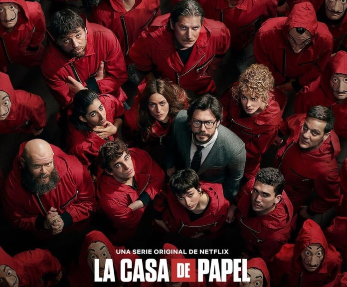 Netflix announces fifth and final lap for blockbuster series 'Money Heist' 2 MUGIBSON